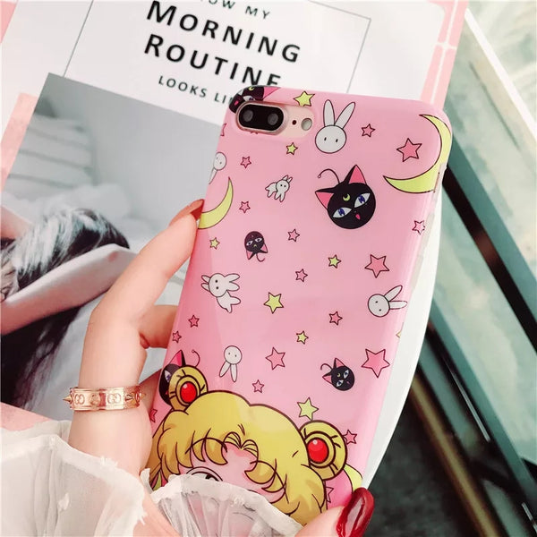 Sailor Moon Phone Case For Iphone6/6s/6plus/7/8/7/8plus/X/XS/XR/XSmax