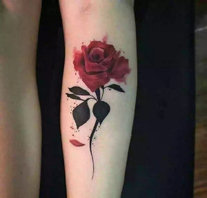 Rose Tattoo Sticker