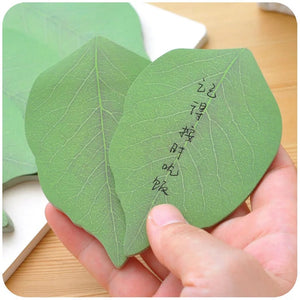 Leaf Sticky Notes
