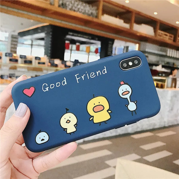 Good Friend Phone Case For Iphone6/6S/6Plus/7/8/7/8Plus/X