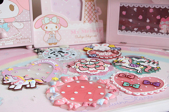 Kawaii  Cartoon Cup Mat