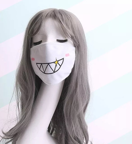 Kaomoji Face Mask