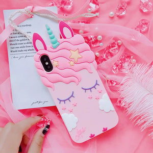 Unicorn Phone Case For Iphone6/6s/6p/7/8/7/8plus/X/XS/XR/XSmax