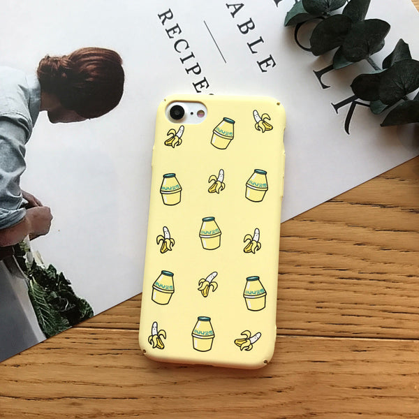 Fruits Juice Phone Case For Iphone6/6S/6P/7/7P/8/8plus/X/XS/XR/Xs max