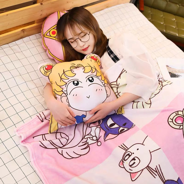 Sailor Moon Dakimakura & Blanket