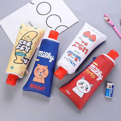 Creative Toothpaste Pencil Case