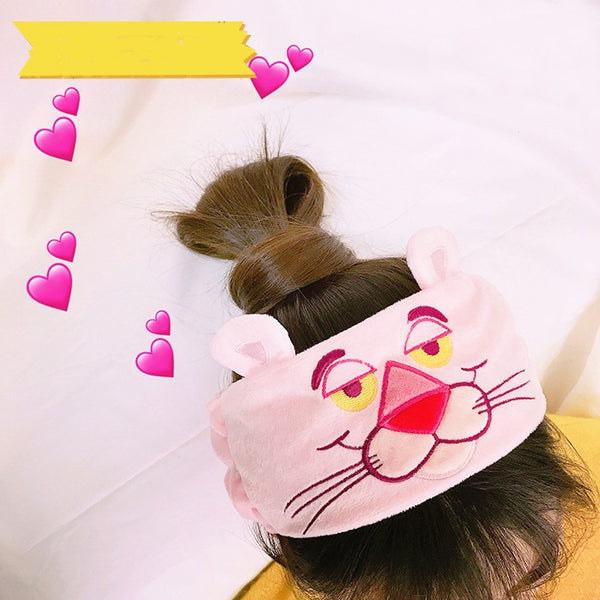 Cartoon Embroidery Headband