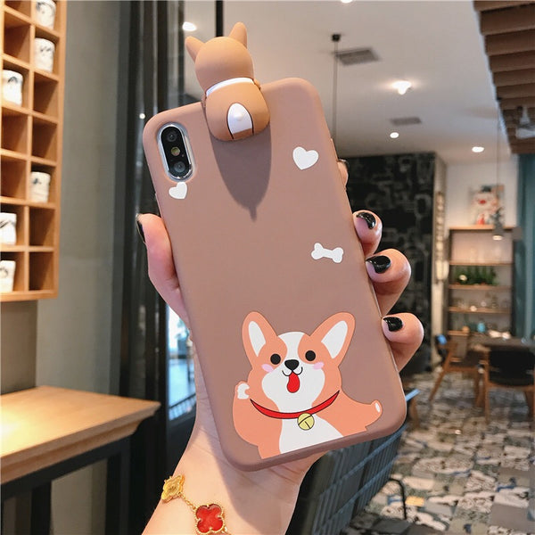 Corgi Phone Case For Iphone6/6S/6P/7/7P/8/8plus/X/XS/XR/Xs max/11/11pro/11pro max/SE