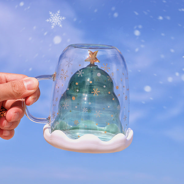 Cute  Christmas Tree Cup