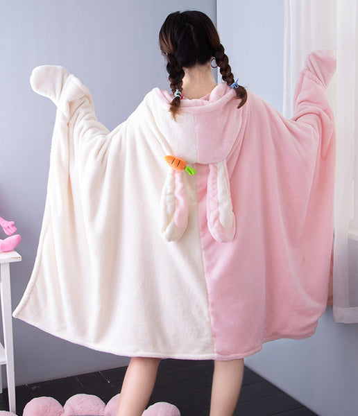 Cute Rabbit & Bear Cloak