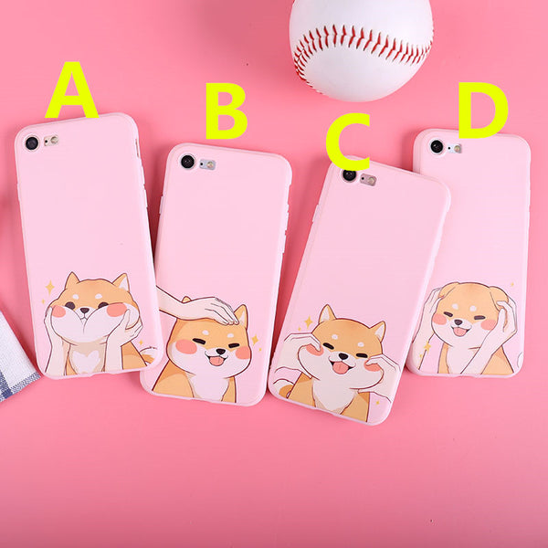 Funny Dog Phone Case For Iphone5/5s/se/6/6S/6P/7/7P/8/8plus/X/XS/XR/XSmax