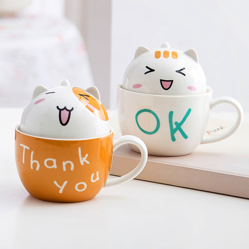 Lovely Cat Cup