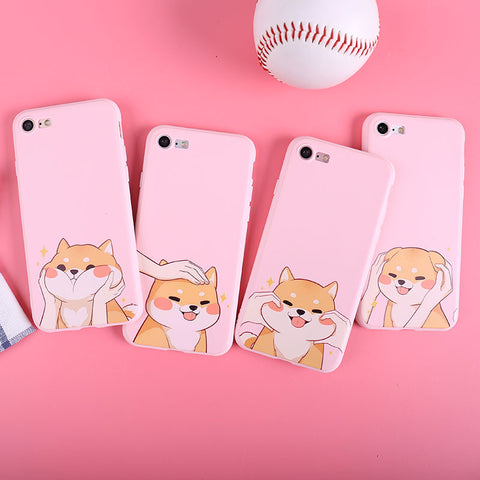 Funny Dog Phone Case For Iphone6/6S/6P/7/7P/8/8plus/X/XS/XR/XSmax