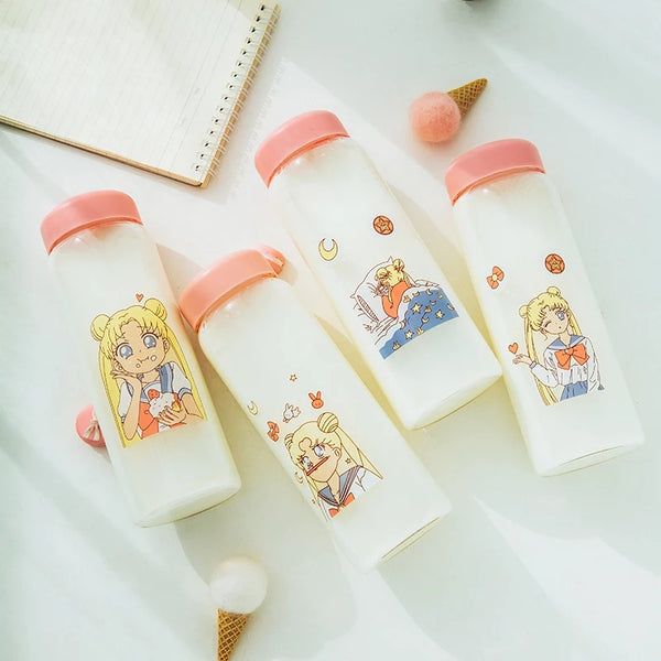 Sailor Girl Glass Bottle