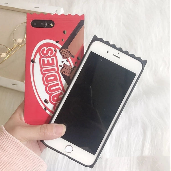 Biscuit Phone Case For Iphone6/6s/6p/7/7plus/8/8plus/X/XS/XR/XSmax