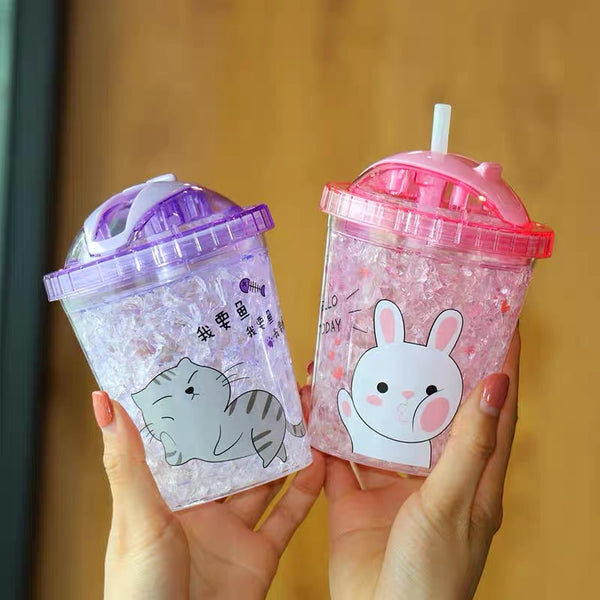 Kawaii Printed Juice Cup