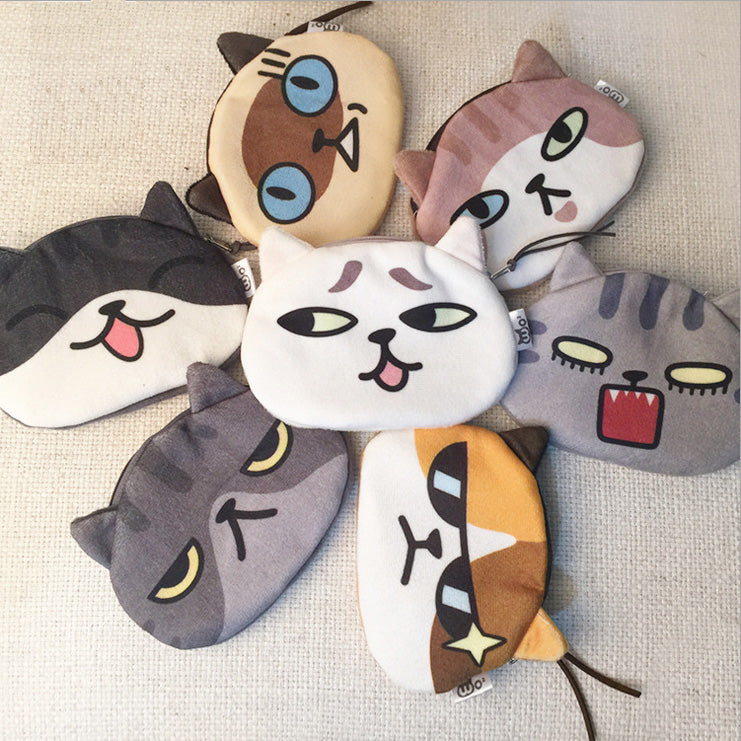 Cute Cat Coin Purse