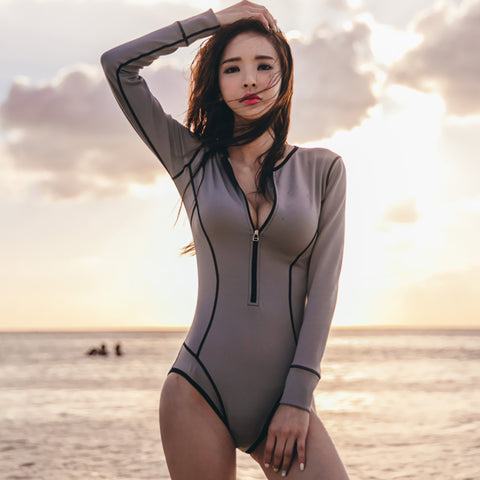 Sexy Long-sleeve Swimwear