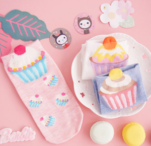 Sweet Cake Ankle Socks