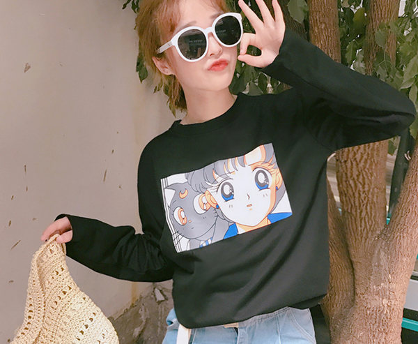 Sailor Moon Printed Shirt