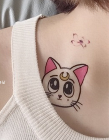 Sailor Moon Tattoo Sticker