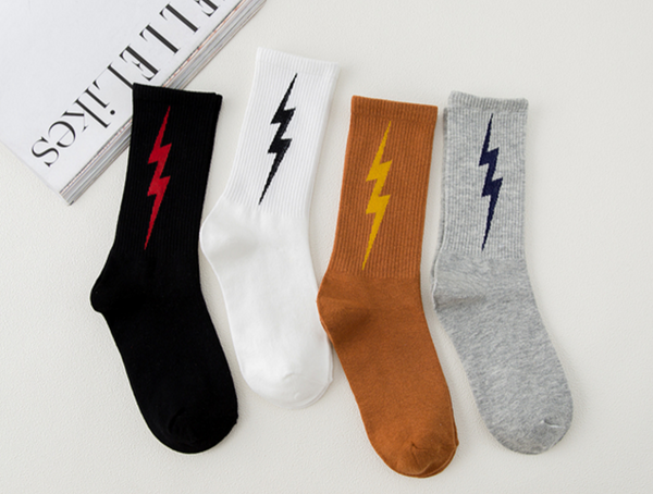 Lightning Socks