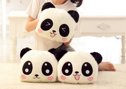 Kawaii Panda Pillow