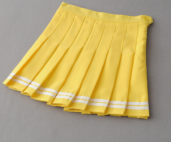 Fashion Pure Color Skirt