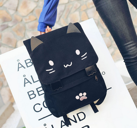 Kawaii Cat Backpack