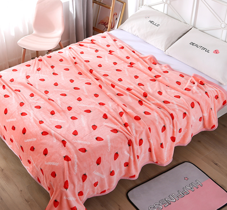 Sweet Strawberry Blanket