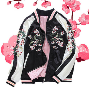 Flowers Embroidery Jacket