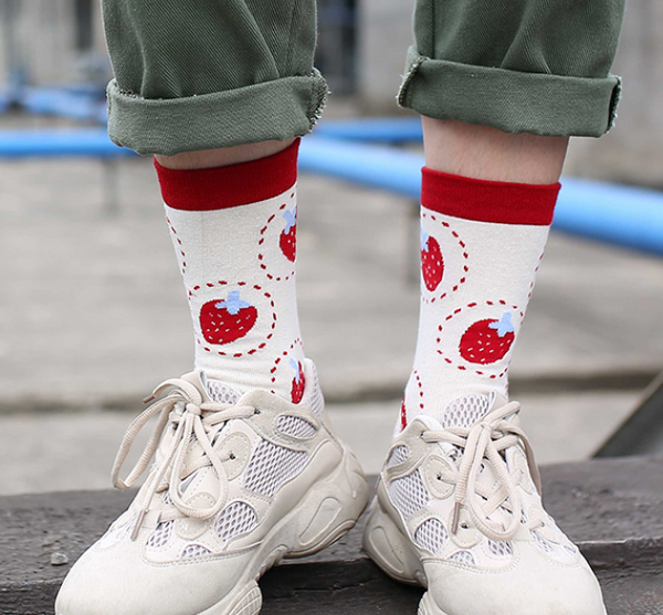 Cute Printed Socks