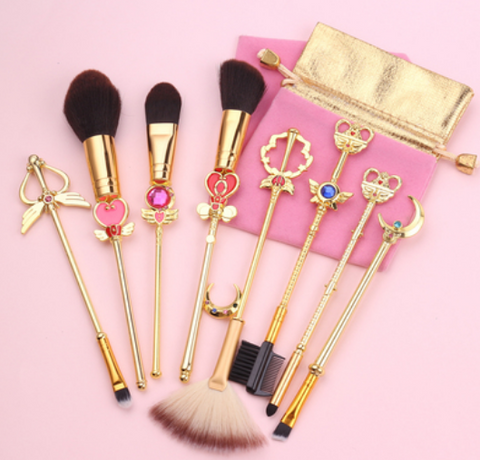 Sailor Moon Makeup Brush Suit