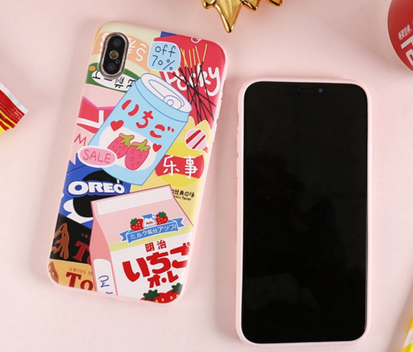 Yummy Printed Phone Case For Iphone6/6S/6plus/7/8/7/8plus/X/XR/Xs/XSmax