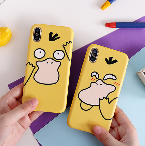 Psyduck Phone Case For Iphone6/6s/6p/7/8/7/8plus/X/XS/XR/XSmax/11/11pro/proMAX