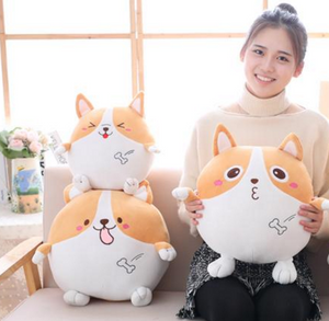 Kawaii Corgi Pillow
