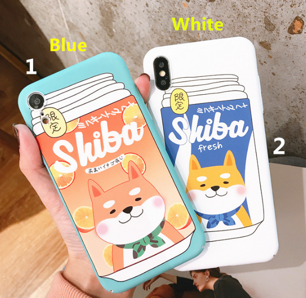 Shiba Phone Case For Iphone6/6S/6P/7/7P/8/8plus/X/XS/XR/Xs max