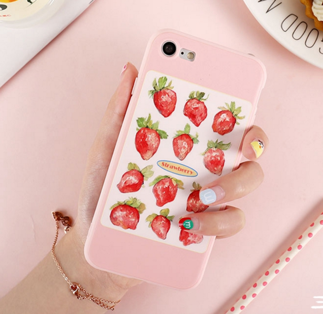 Fruits Phone Case For Iphone6/6S/6P/7/7P/8/8plus/X/XS/XR/Xs max