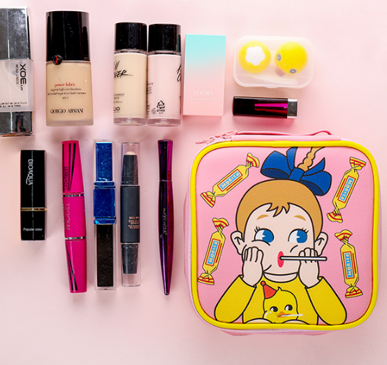 Sweet Girl Makeup Bag
