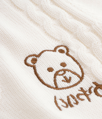 Kawaii Bear Knitted Sweater