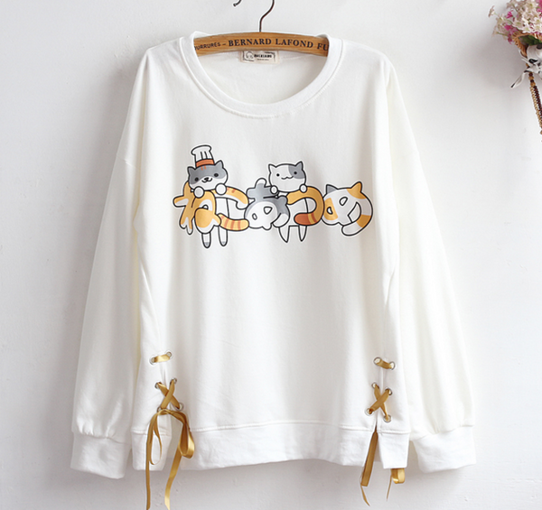 Kawaii Cats Hoody