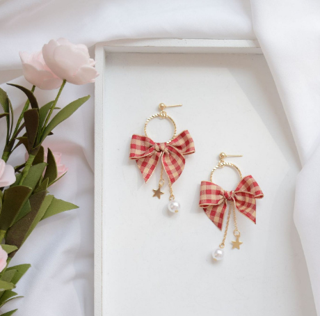 Cute Bowknot Earrings