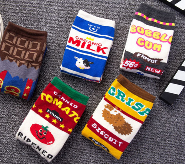 Sweet Food Socks
