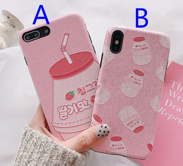 Juice Phone Case For Iphone6/6S/6P/7/7P/8/8plus/X/XS/XR/XSmax