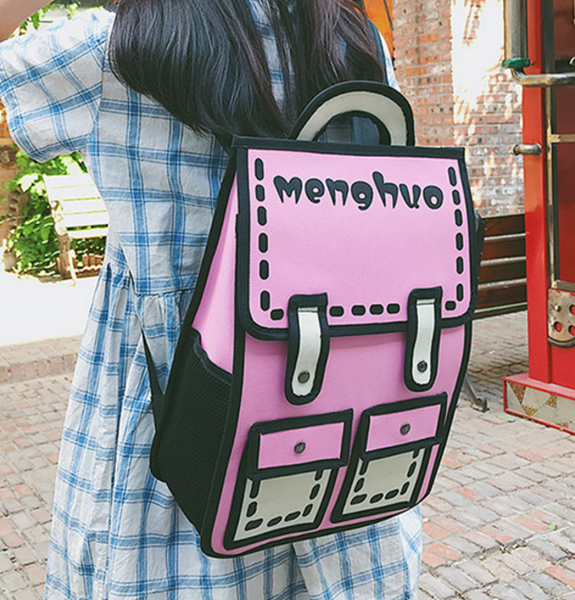 Cute Printed Backpack