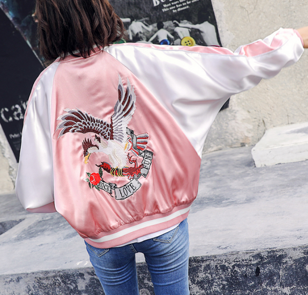 Harajuku Embroidery Jacket