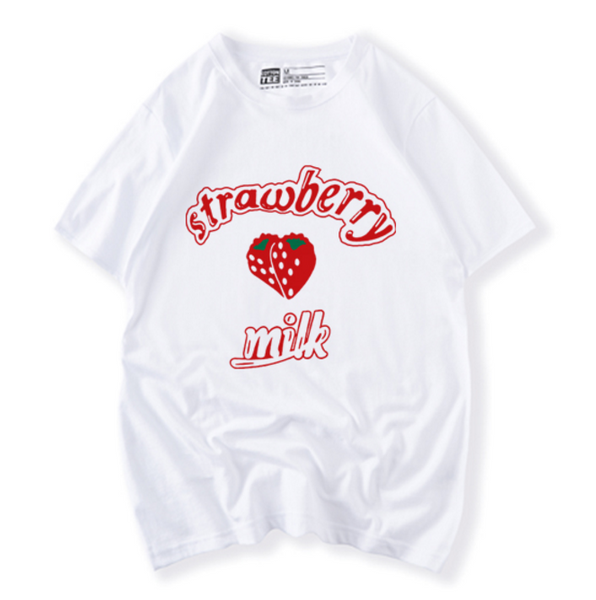 Cute Strawberry Milk T-shirt