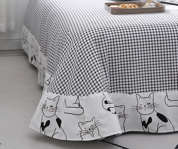 Lovely Cat Bedding Set