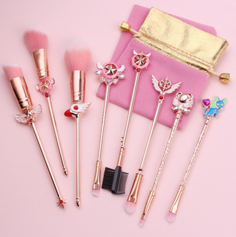 Sakura Makeup Brush Suit