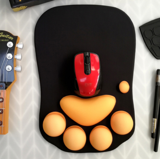 Cat Paw Mouse Mat